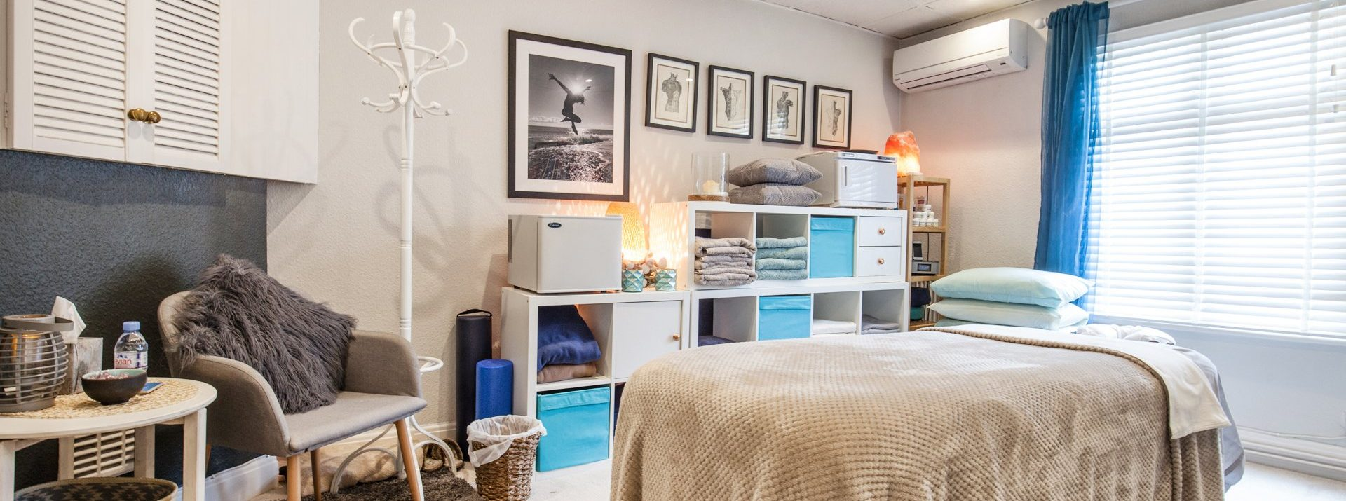 Cosy & Welcoming Treatment Rooms